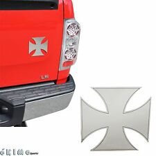 Bully Large Maltese Cross Stainless Steel Trim Emblem Chevy Dodge GMC Hummer