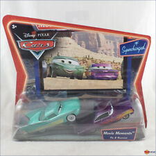 Disney Pixar Cars Flo and Ramone movie moments supercharged series by Mattel