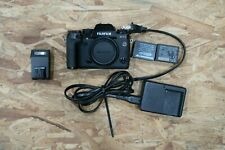 Fujifilm X Series X-T1 16.3MP Digital SLR Camera -Black (Body Only) *READ/ASIS*