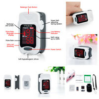 FDA Finger tip Pulse Oximeter Blood Oxygen meter O2 SpO2 Heart Rate Monitor US
