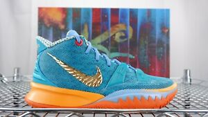 NEW Nike Kyrie 7 Concepts Horus SPECIAL BOX CT1135 900 Orange Teal VII