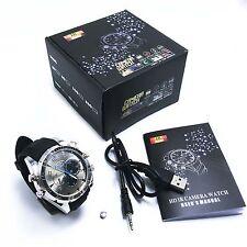 32GB 1080P Mini Spy Camera Watch DVR Waterproof Hidden Recorder IR Night Vision