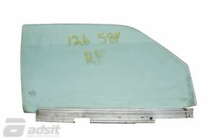 Used Mercedes Benz 1981-1991 W126 Front Right Door Glass *1267202218