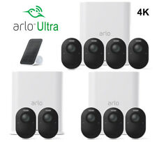 NEW ARLO ULTRA 4K WIRE-FREE SECURITY CAMERA SYSTEM 2,3,4,5 CAMERA & ACCESSORIES