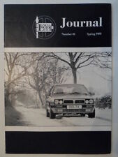 LANCIA MOTOR CLUB GAZZETTA ORIG UK Mkt opuscolo-Primavera 1988 No.81