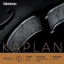 D'Addario Kaplan Viola C String, Short Scale, Medium Tension