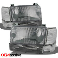Fit 1992-1996 Ford Bronco F150 F250 F350 Replacement Headlights Bumper Corner