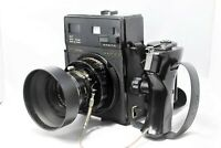 【Execllent+++++ 】Mamiya Universal Press  +Sekor 100mm f/3.5 +6x9 Back from Japan