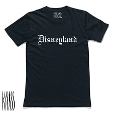 KLLASS DISNEYLAND,T-shirt,Men's,Cult,Gangster,club,movie,Party,Casual,Skate,Rave