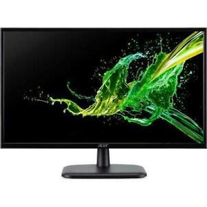 """Acer EK220Q 21.5"""" 5 ms response 75 hertz  Black LED monitor"""