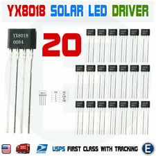 20PCS YX8018 LED Solar Boost Driver IC TO-94 8018 Converter Booster IC USA