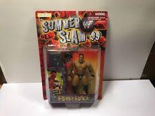 THE ROCK Summer Slam '99 Road Rage  Action Figure Dwayne Johnson WWF SEALED