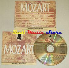 CD MOZART concerto k 491 serenata k 388 rondo' k 511 CURCIO lp mc dvd