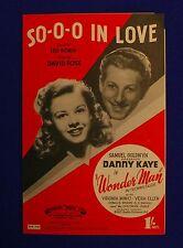 Sheet Music Lot of 6 ~ 1940s ~ Danny Kaye, Bing Crosby, Eddie Cantor, Carmichael