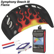 NEW! FLAME 1.3 Symphony Beach Foil Stunt SPORT Power KITE Dual R2Fly! US Seller!