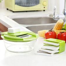 Hot Multifunction Mandoline Vegetable Slicer Dicer Fruit Cutter Slicer Grater UF
