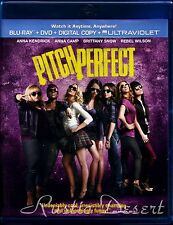 Pitch Perfect (Blu-ray, DVD, no Digital 2012) Anna Kendrick, Anna Camp (used)