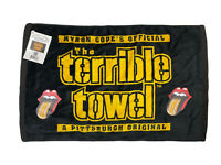 RARE NEW/NWT Rolling Stones Pittsburgh Steelers Terrible Towel From 6/20/2015