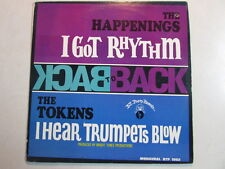 THE HAPPENINGS THE TOKENS BACK TO BACK MONO MONOAURAL 12 TRACK LP BTP 1002 OOP