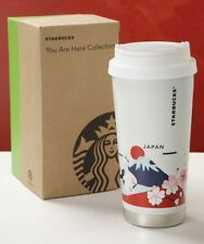 NEW Starbucks 2018 JAPAN you are here Stainless Tumbler 473ml fuji castle sakura