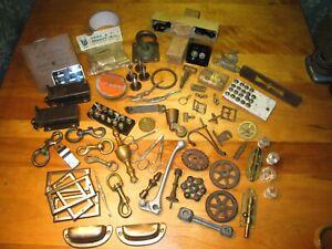Vintage Hardware Work Shop Junk Drawer contents Cool Old Stuff