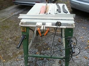 TABLE SAW & STAND FERN FZT -315B 2000w GOOD WORKING ORDER