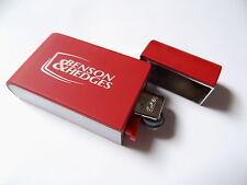 Benson & Hedges  Hülle rot / Silber mit Einwegfeuerzeug von Bic Neu siehe Foto