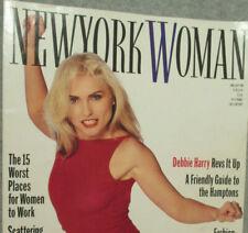 New York Woman Magazine Punk Debbie Harry Article - Rock Band - 1970's 1980's