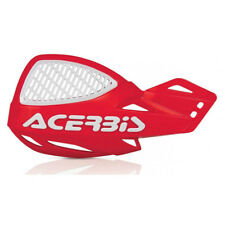 Acerbis MX Uniko Vented Handguards w/Fitting Kit - Red