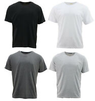 Men's Plain 100% Cotton T-Shirt Basic Blank Adult Tee
