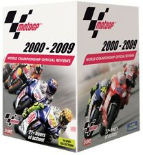 MOTO GP 2000-2009 DVD - Grand Prix Motorbikes 10 MotoGP Reviews VALENTINO ROSSI