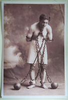 XL Format Very HiQ Poster ~Harry Houdini in 1908~Magician, Escape Artist 36 x 24