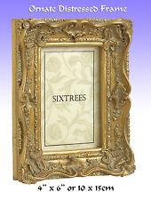 """Antique/Ornate Gilt Photo Frame or Art Frame.6x4""""(15x10cm) (Chelsea 5-250-46)."""