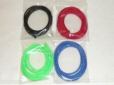 1M Gaine de protection de câbles en Nylon Tressé Ø 4mm ou 7mm