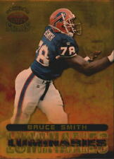 1998 Topps Stars Luminaries Gold Buffalo Bills Football Card #L11 Bruce Smith/50