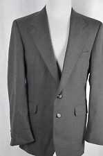 Evan Picone Elder Beerman Mens Large 42 Gray Sport Coat Suit Jacket Blazer Lined