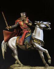 Pegaso Models 90mm 1:20 Richard the Lionheart White Metal Figure Kit #90-919