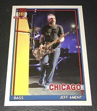 PEARL JAM Wrigley Baseball Card - Jeff Ament 3 yellow - 2016 Chicago pack cubs
