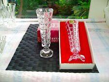 3 CRISTAL D'ARC soliflor vases Boîte 1 in (environ 2.54 cm) autres Comme neuf