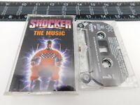 Wes Craven's Shocker The Music Cassette Soundtrack Audio Tape K4-93233 Metal