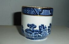 Royal Doulton Booths Real Old Willow TOOTH PICK holder barrel shaped egg cup