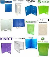 PlayStation PS 2 3 4 Vita XBox 360 One Kinect UMD Nintendo Wii WiiU DS Game Case
