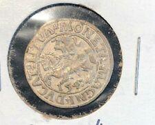 Lithuania 1547 Pusgrasis  Sigismund II VF+