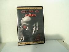 12 Monkeys Bruce Willis Madeline Stowe Brad Pitt dvd movie