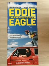 locandina,S28,Eddie the Eagle Il coraggio della follia SCI SKI Edwards Egerton