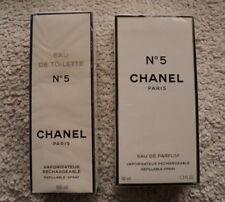 Chanel No 5 SEALED 1.7 oz 50 ml Eau de Parfum + Chanel Eau De Toilette 100ml