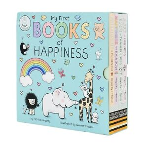 My First Books of Happiness 4 Books by Patricia Hegarty - Ages 0-5 - Hardback