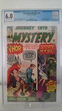 JOURNEY INTO MYSTERY THOR # 99  CGC 6.0 FN  1ST SURTUR & MISTER HYDE  CENTS 1963