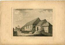 Hyde Abbey grabado por D.L. publicado por S. Cooper en 1783