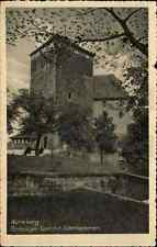 NÜRNBERG Bayern ~1930 alte Postkarte 5-eckiger Turm mit Folterkammer AK ungelauf